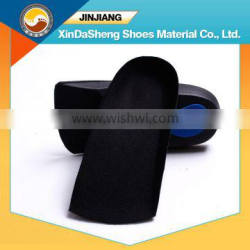 3/4 length shoes removable orthopedic insole with hard plastic