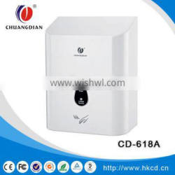 Public bathroom wall mounted automatic Infrared sensor hand dryer CD-618A