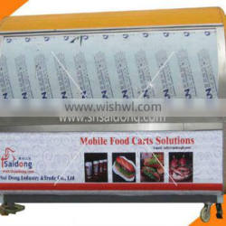 China Vending Mobile Food Carts Products High Quality/Hot Food kiosk/Fast Food Carts