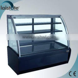 Stainless Steel Under Counter Refrigerated Pastry Display Cabinet