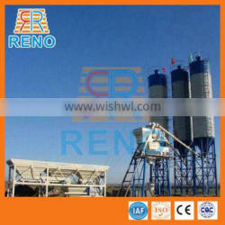 Good quality hzs35 small macon concrete batching plant for sale