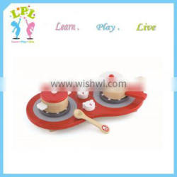 Pretend cooking game kids play kitchen cooking set kid toy gas cooker