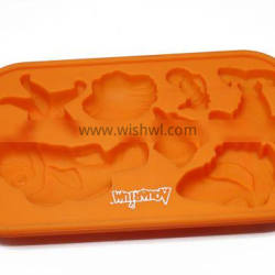 Cream Cube Tray Rubber Ice Molds