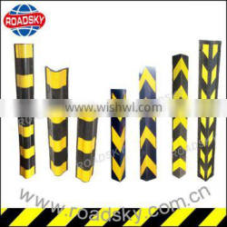 Flexible Rubber Corner Guards with Yellow Stripe