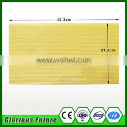 CHINESE CHEAP PRICE plastic comb foundation sheet/Beekeeping equipment plastic foundation