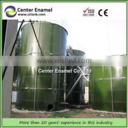 Glass Fused to Steel Tank for Palm Oil Effluent Treatment Storage