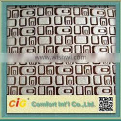 2015 New Design Hot Selling Sofa Fabric Glitter Double Cheniile jacquard chenille upholstery Fabric