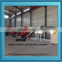 Automatic Waste tyre recycling plant for crumb rubber