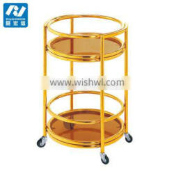 Hotel supply mobile tea and Liquor trolley