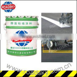 High Quality White Cold Solvent Road Marking Paint On Sale