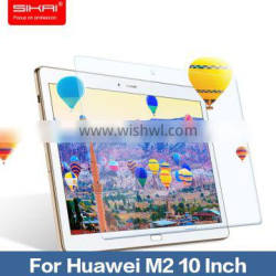 Sikai 0.2mm Ultra Thin Clear Anti Scratch Tempered Glass Screen Protector For Huawei M2 10 Inch Tablet Screen Protector Film