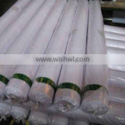 polyester rayon woven fabric white fabric