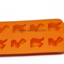 With Star Shape Silicone Cube Trays