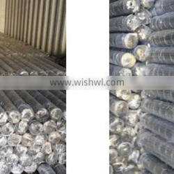 Galvanized/PVC hexagonal wire mesh fence for cattle,horse, sheep,poutry and other animal and poutry(hexagonal wire mesh-015)