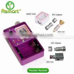 USA highly recognised 40W pocket rocket box mod by Asmart rocks the 1.2ohm BVC coil