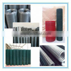 various grades of welded wire mesh from 14 gauge to 19 gauge thickness