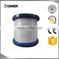 PVC coated 304 stainless steel wire rope