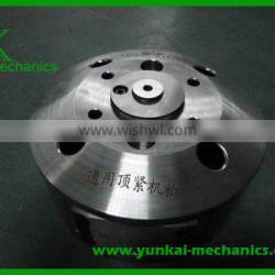 Stainless steel blind flange, cnc machining parts for casting machine, reducing flange