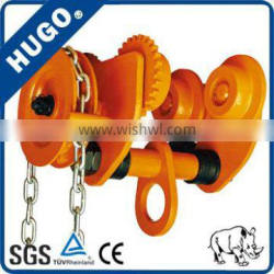 Hoist lifting equipment hand pulling Trolleys