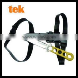 Outdoor sport water diving stainless steel blade rescue dive knife