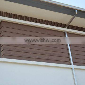 Exterior Wall panels Heat Insulation Wood Composite Cladding Board