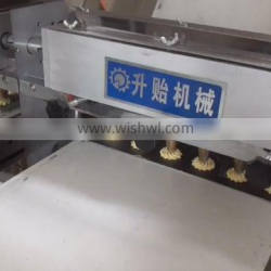 China Automatic cookie making machine small biscuit machine Filled Biscuit Cookies Production Line