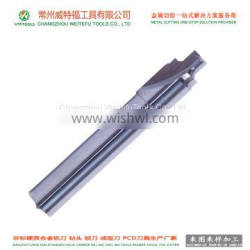 High Efficiency 11mm Straight Flute Tungsten Carbide Reamers For CNC Reaming Hole