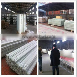FRP T-shape support beam for farrowing crate /nursery house