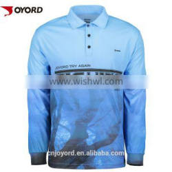 High quality sublimation printing waterproof fishing clothing