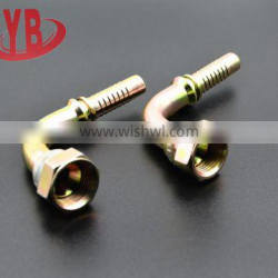 26791 elbow JIC female 74 degree cone iron made in china hose fitting