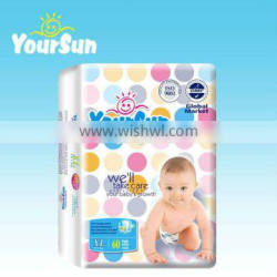 super soft first grade disposable OEM baby nappies