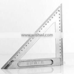 Berrylion Stainless Steel Triangle Ruler 150mm 200mm Scale Ruler