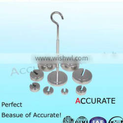 6850g M1 slotted test weight ,hanging scale weight, hook calibraiton weight.cast iron weight