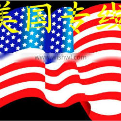 Shanghai international express to the United States Shipping UPS Logistics China to send goods to the special EMSDHL car