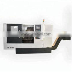 CK50 Taiwan turret type slant bed cnc lathe with Tailstock