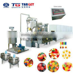 New technical Jelly candy production line with servo control