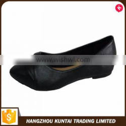Special design widely used beautiful ladies flat shoes