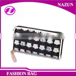 2016 New cartoon animal fancy Latest lady wallet and purse