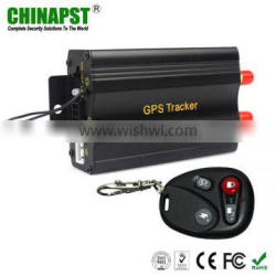 Quad Band Two SIM Cards Fuel Sensor & Central Locking Anti Theft gps tracker alarm vehicle with Remote Controller PST-VT103B+