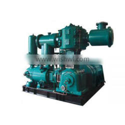 55kw skid mounted Plastic blowing special used Air Compressor