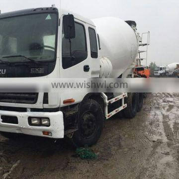 USED JAPAN ISUZU CONCRETE MIXER 9M3 FOR SALE (Sell cheap good condition)