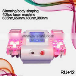 100% Guarantee 4D Lipo Laser Slimming Machine with 528 Diode Laser