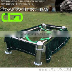 Colors of Casket Coffin Lowering Device with Handle and Accessories