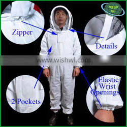 Manufacturer advanced design beekeeping industry coveralls cotton bee protection clothing