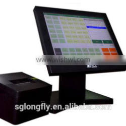 All in one touch POS terminal for Restaurant Flexible reports check