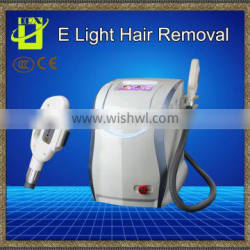 Painless Ipl Rf Hair Removal Beauty Salon Equipment With CE Approval Double Handles