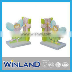 Kids Wooden Forest Fairy Design Bookend