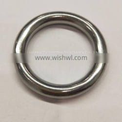 For Sail Boats & Yachts Round Ring Welded HKS317 Stainless Steel
