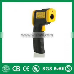 Infrared thermometer for measuring temperature -50C to 550C with laser pointer