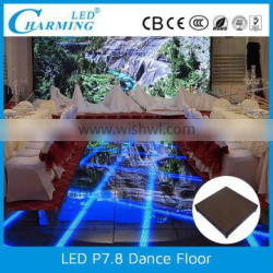 hot selling rgb smd wholesale portable dance floor for rental